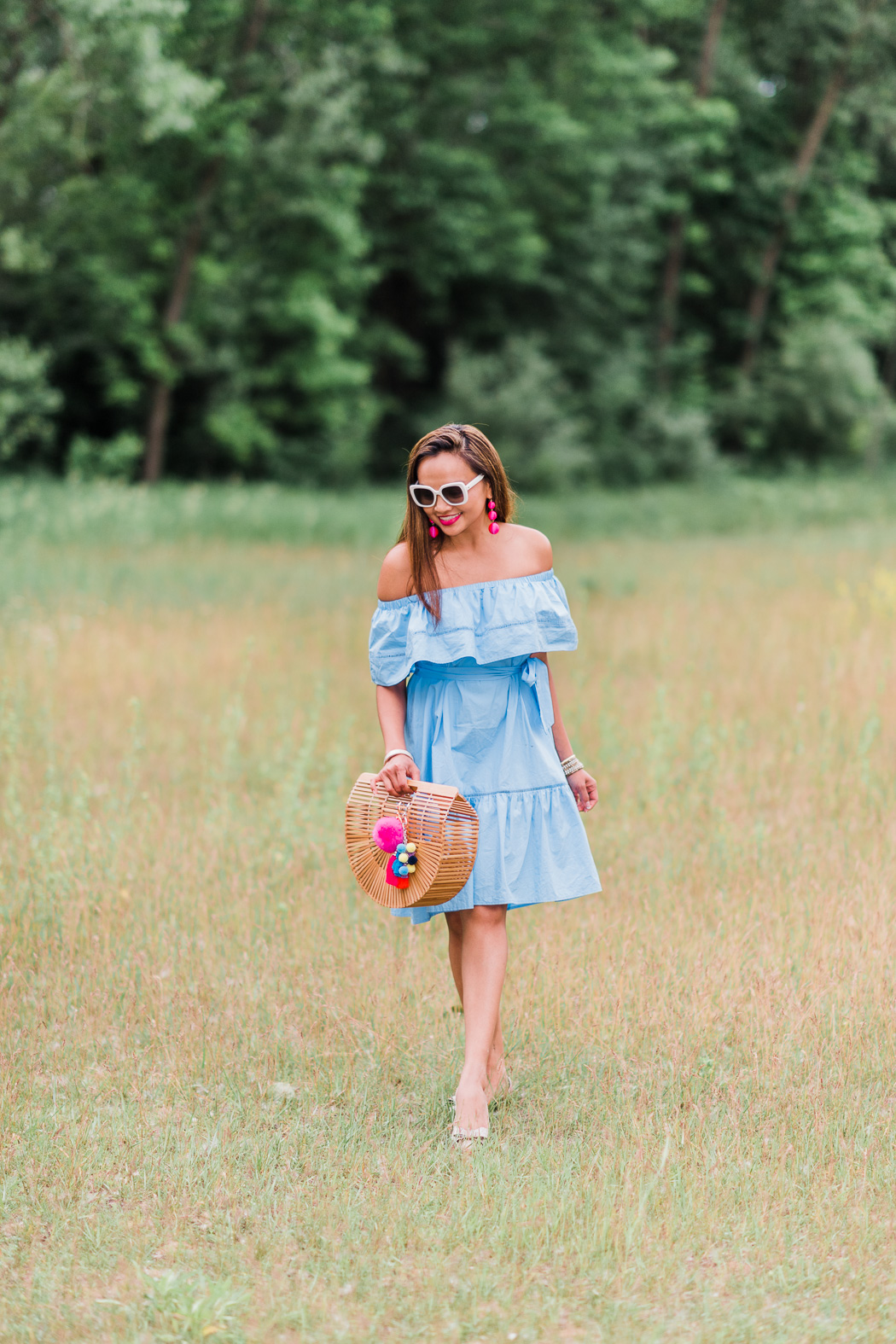 colors of mei, fashion blogger, milwaukee blogger, inspiration blogger, blue dress ideas, kate spade glasses, flat shoe ideas, ruffle dress, cute dress ideas, dress ideas, mke fashion, mke, mke blogger, milwaukee fashion blogger, mei, meileilan, brian mattinson photography, brian mattinson